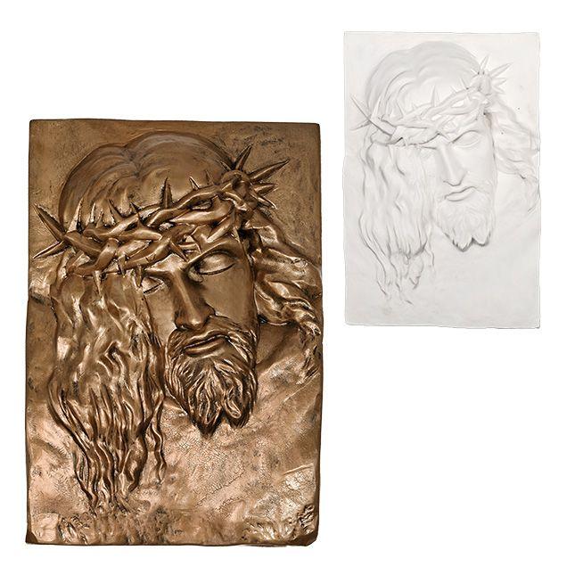 Jezus Cierpiący - płasorzeźba